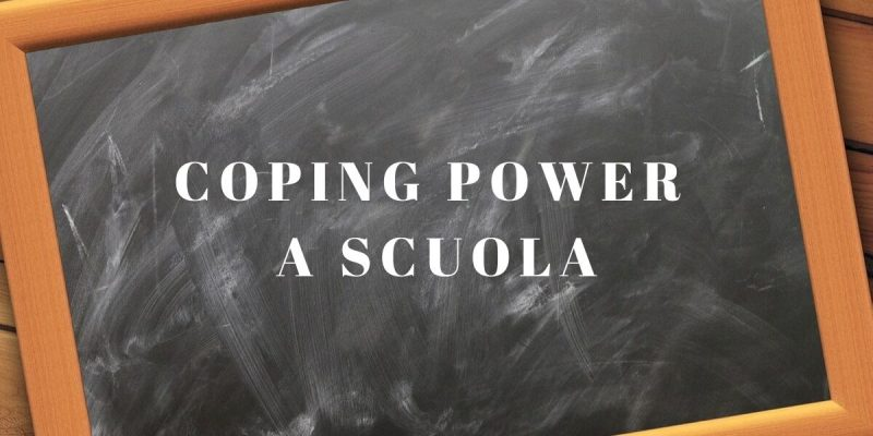 Coping power scuola